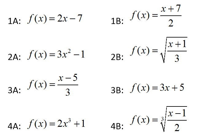 Inverse Function Partner Share | mathcoachblog